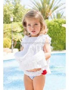 Vestido de bebé para niña Agua
