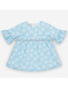 Vestido para bebé niña Tortugas
