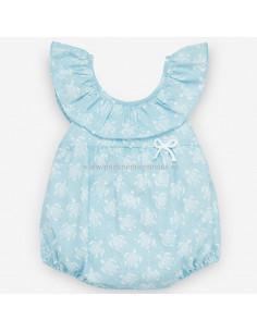 Pelele para bebé niña Tortugas