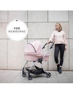 Carrito para bebé 2 en 1 Eagle 4S Duoset pink