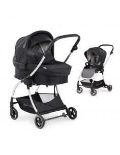 Carrito para bebé 2 en 1 Eagle 4S Duoset black