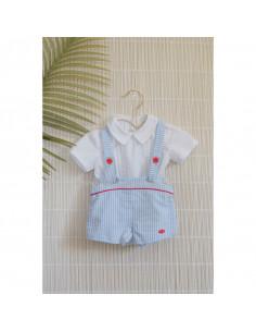 Conjunto de bebé para niño Lirio