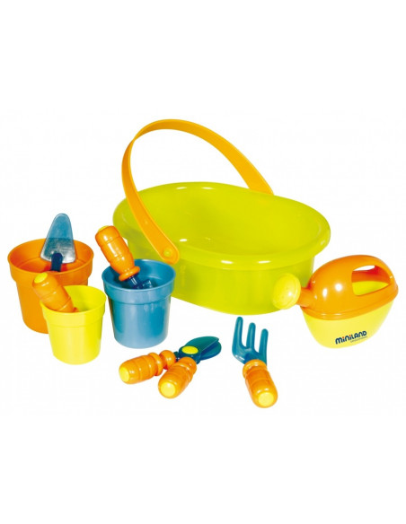 Kit de jardineriía de juguete de Miniland