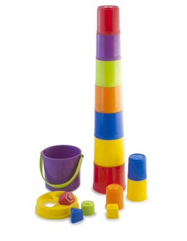 Apilable gigante y juego de encajes Giantte de Miniland