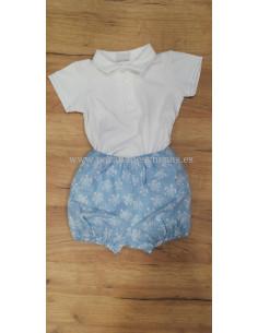 Pantalón corto para niño Tortugas