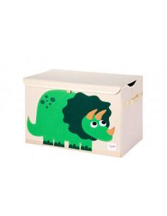 Arcón de juguetes dino de 3 Sprouts