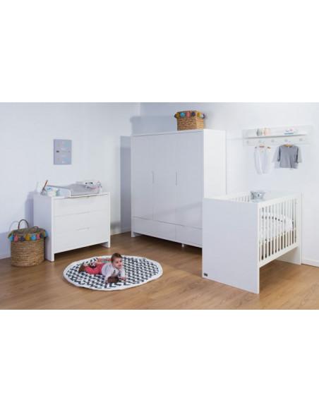 Habitación bebé Quadro White de Child Home