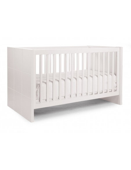 Cuna cama extensible Quadro White de Child Home