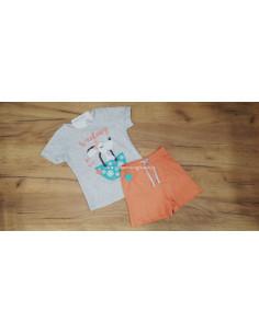Pijama para niña Mandarina