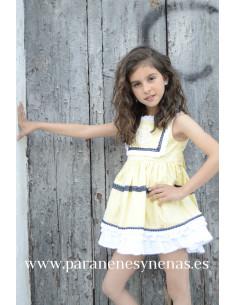 Vestido infantil para niña Margarita