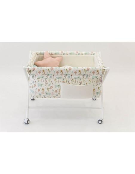 Minicuna bebé Garden Bears de Cucos Baby