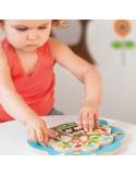 Juguete puzzle de madera buho de Skip Hop
