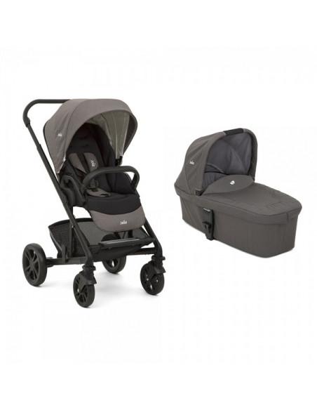 Coche de bebé trio Joie Chrome Foggy Gray