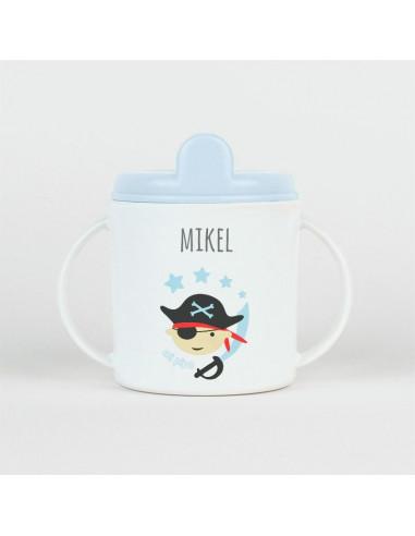 Taza Pirata personalizada +9m de Mi Pipo