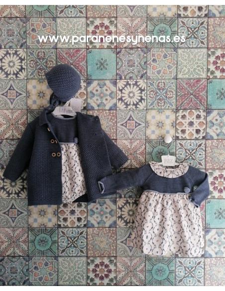 Vestido bebé niña Fauna de Paz Rodríguez
