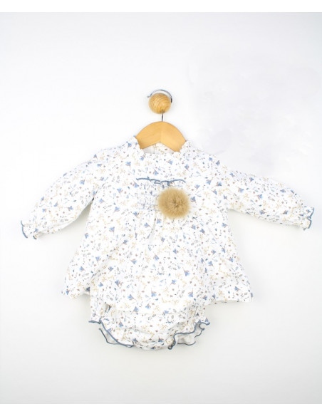 Vestido bebé niña Floral de Popys