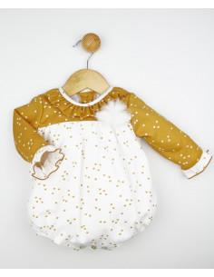 Pelele bebé niño Coronas de Popys