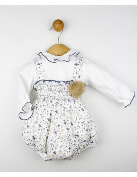 Conjunto bebé niña Floral de Popys