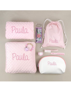 Pack Mi equipo para la Guarde Rosa personalizado de Mi Pipo