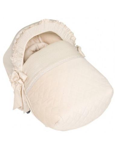 Saco y capota portabebé Mandolina de Pili Carrera