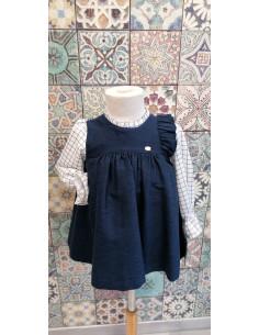 Vestido de bebe para niña Telar de Yoedu Invierno