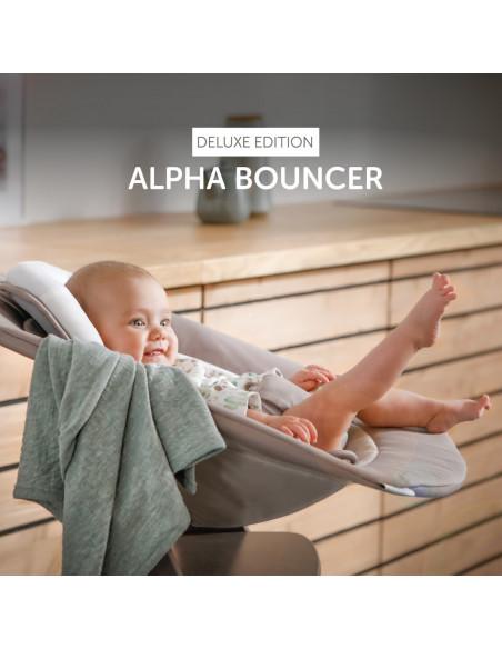 amaca bebé Hauck alpha bouncer deluxe sand