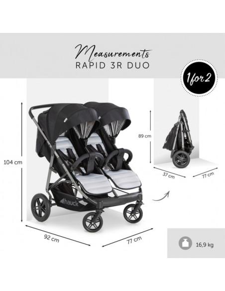 Silla gemelar Hauck Rapid 3R duo