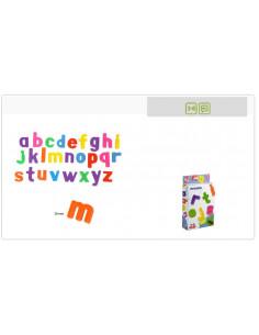 Juguete letras minúsculas magnéticas 62 piezas de Miniland