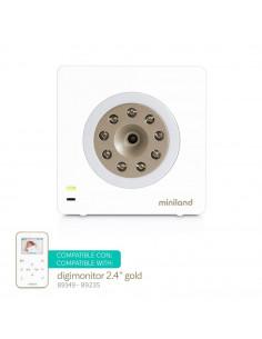 Cámara digital adicional 2.4'' gold de Miniland
