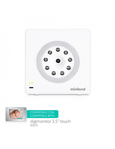 """Cámara adicional digimonitor 3.5"""" touch de Miniland"""