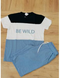 Conjunto para niño Be Wild Azulina