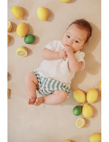 Conjunto para bebé Provenza de Paz Rodríguez