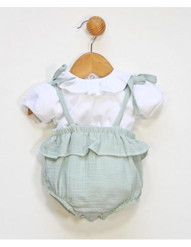 Conjunto pichi para bebé Spring Time de Popys