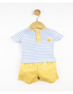 Conjunto dos piezas bebé niño Sand Star de Popys
