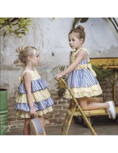 Vestido para niña Limonero Yoedu