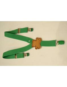 Tirantes ajustables verde Pilar Batanero