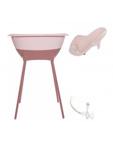 Set de baño rosa de Luma Babycare