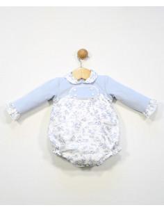 Pelele para bebé Pana de Popys