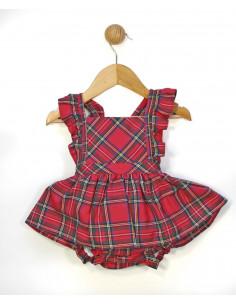 Pichi de bebé para niña Escoces de Popys