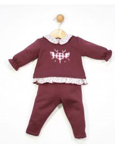Conjunto para bebé niña Vichy de Popys