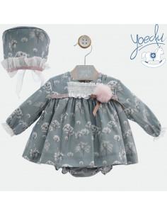 Jesusito para bebé niña con capota Cirene de Yoedu