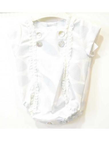 Pelele bebé de verano de Pilar Batanero