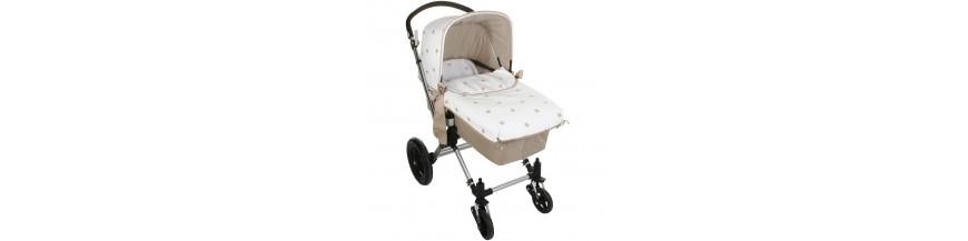 Colchas y sacos para capazo de coche de bebé