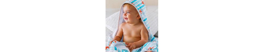 Textil para el cuidado del bebé