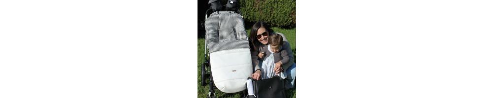 Colección Filip para silla, capazo y auto   Uzturre - polipiel - vichy