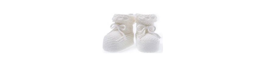 Zapatos y patucos de bebé para antes de caminar
