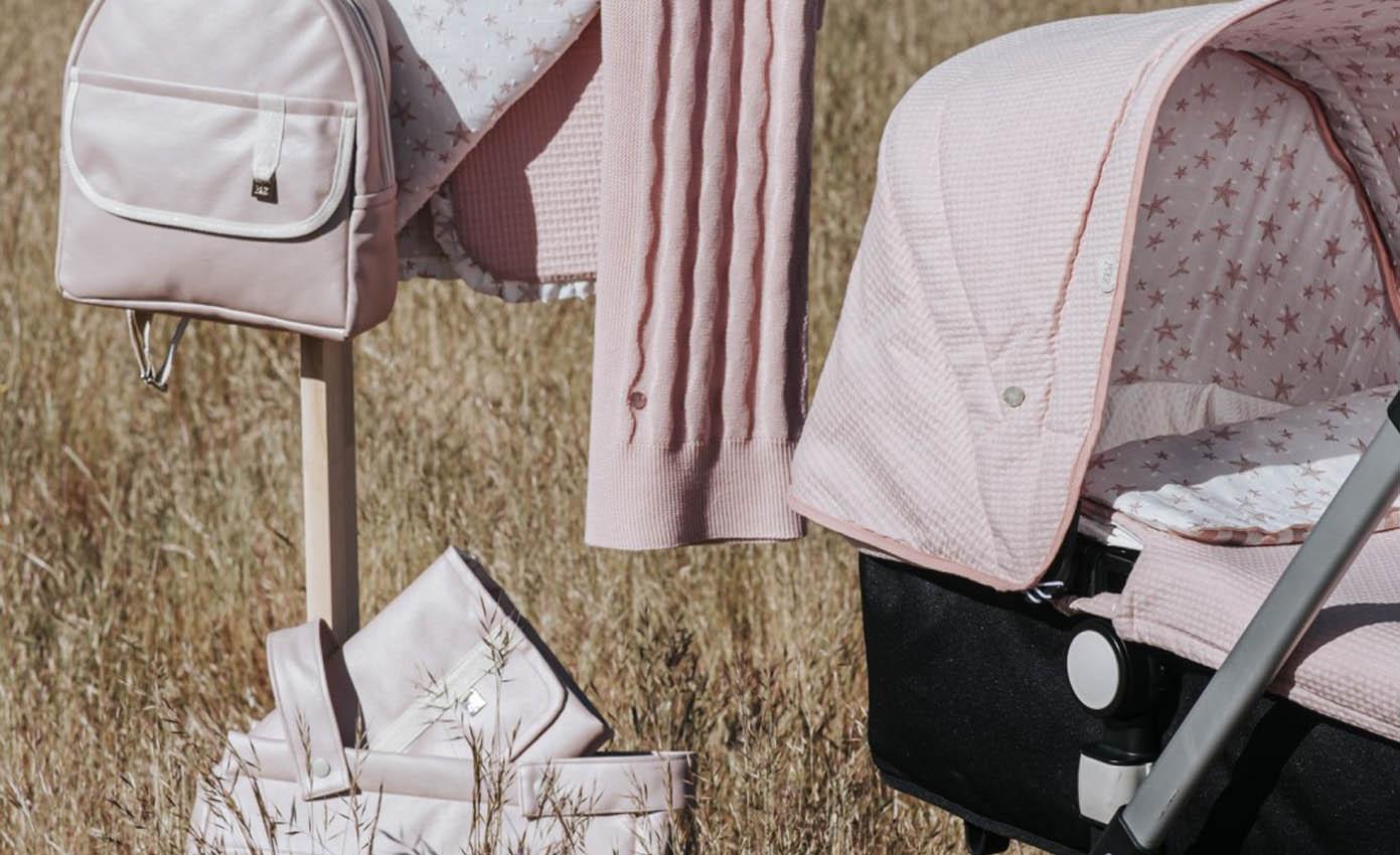 Colchas, sabanas y complementos para el carrito de bebé