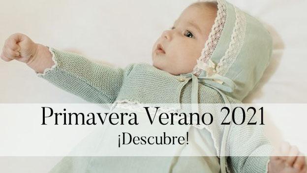 Ropa bebé primavera verano 2021
