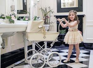 Bebelux fabrica los carritos de muñecas retro