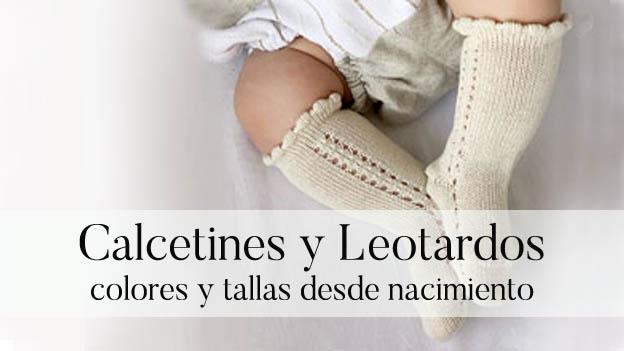 Calcetines y leotardos de bebé